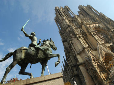 Jeanne d'Arc - Cathédrale de Reims