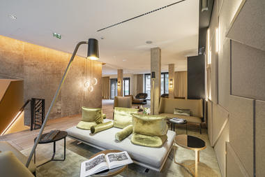 La Caserne Chanzy - Reims - Lobby-part
