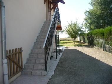 accès chambre du haut