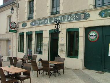 Le café d'Hautvillers