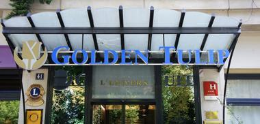Entrée Golden Tulip Reims L'Univers