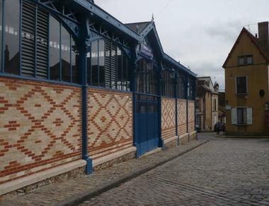 Halle du Dr Huguier - Sézanne