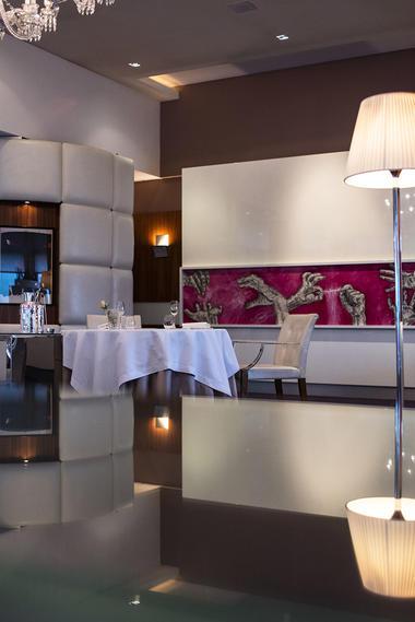 L'Assiette Champenoise - Tinqueux - Salle de restaurant