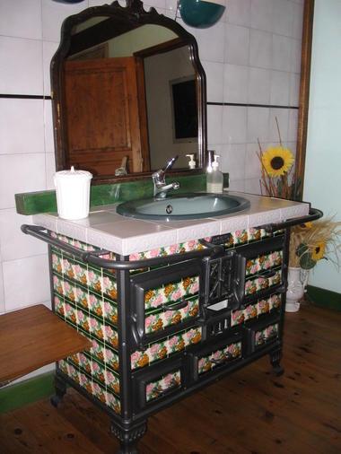 La Maison de Marie - salle de bain de la suite