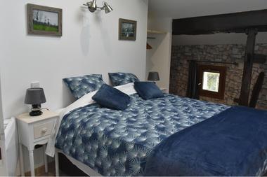 Chambre 4 Etage (2* lit Simple 80*190 ou 1* lit double 160*190)