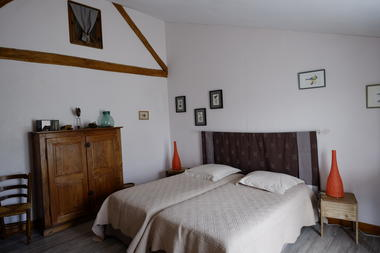 La Maison de Marie - chambre avec 2 lits la suite