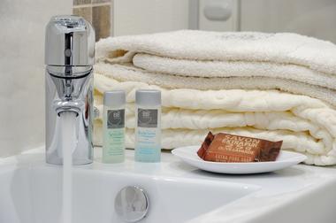 Salle de douche privative,, chambre Vintage