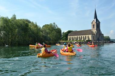 Kayak église de Champaubert