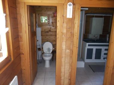Gîte de l'Etanchée - WC - Salle d'eau