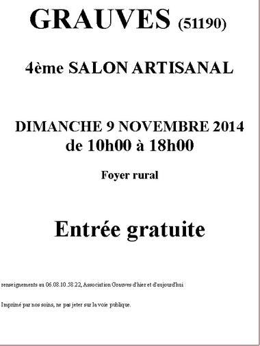 2014-11-9 Salon artisanal Grauves