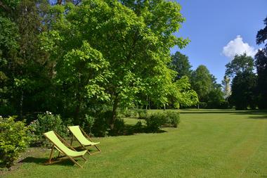 Le parc pittoresque - Château du Grand Jardin - Joinville