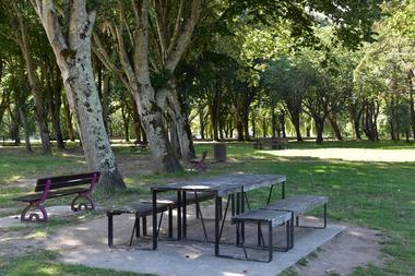Aire de pique-nique Parc Paysager