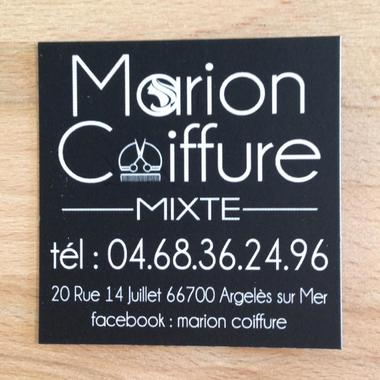 Marion coiffure