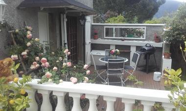 Au petit bonheur, terrasse en fleurs