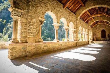 Abbaye Saint Martin du Canigou-Casteil_13