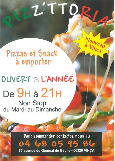 Affiche Pizz'ttoria