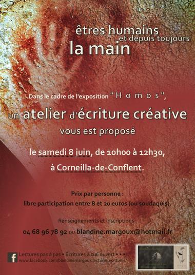 Blandine Margoux - La main - 8 juin - Diaporama