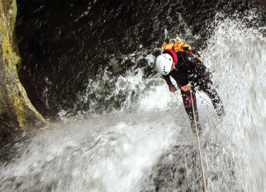 Canyoning-Llech
