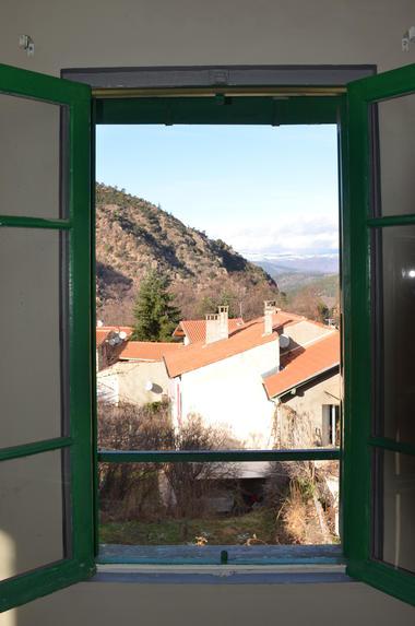 Hampshire depuis la fenêtre