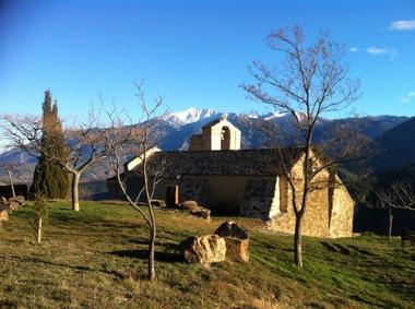 L'église de Jujols