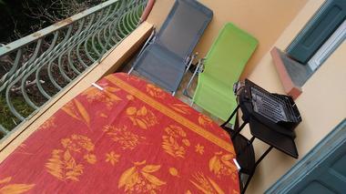 Les Pommiers, balcon