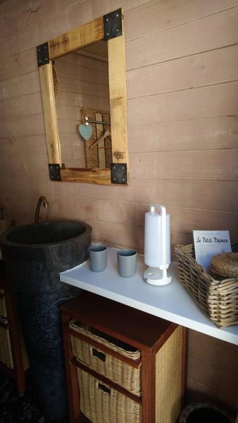 Les perles catalanes Lodge salle de bains