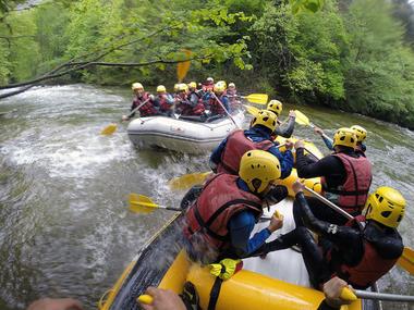 aventure active raft aude
