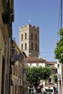Clocher de l'eglise ArgelèsMer
