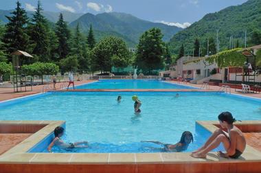 piscine de plein air, petit bain