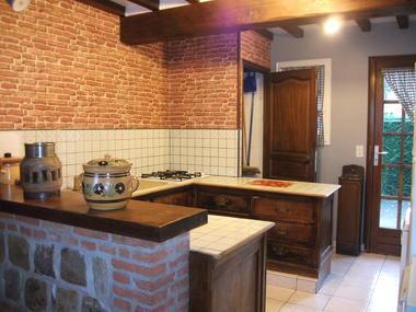 Quiberville - Gîtes Basse Saâne - Village - cuisine 2
