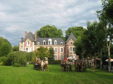 Quiberville - Castel des Vergers - Mme Peixoto - Vue extérieure