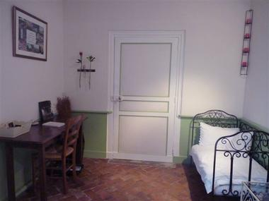 Bacqueville - La Charretterie - Mme Prévost - Chambre Belle de Fontenay