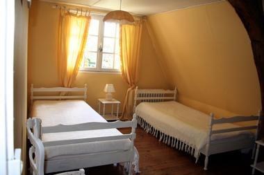 Lammerville / Bacqueville - La Ferme de la Vienne - Mme Ropars - Chambre lits simples