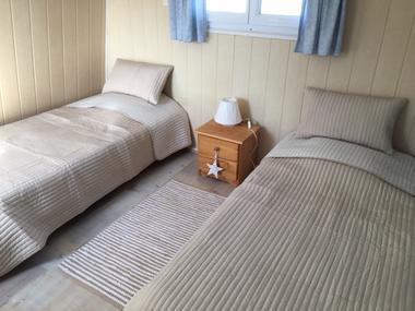 Quiberville - Vent d'Amont - Mme Lesale - Chambre lits simples