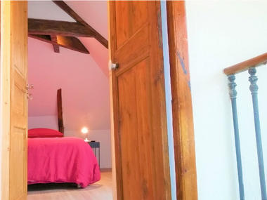 Jacquemarts Normands - Chambre 2 vue depuis l'escalier