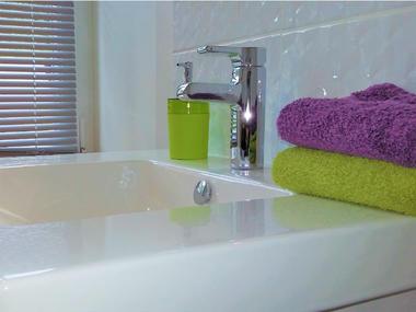 Jacquemarts Normands - autre détail salle de bain