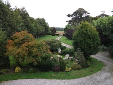 Quiberville - Castel des Vergers - Jardin - Mme Peixoto -