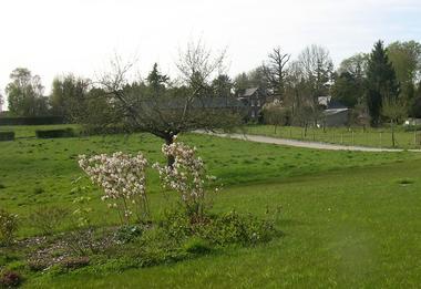 Gruchet St Siméon - La Maison de Gruchet - Mme Van Roy - jardin
