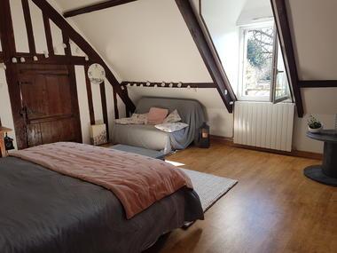 Saane-Saint-Just-CH-Campagne-et-Mer-Mme-PIERCHON-Chambre vue clic-clac