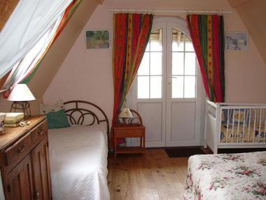 Saint Vaast du Val - Gîte Ballue - Chambre