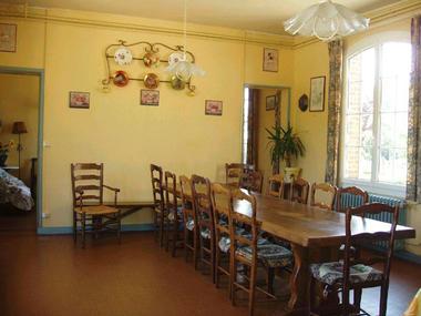 Saint Vaast du Val - Ballue - Salle à manger
