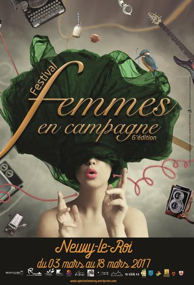 Affiche Femmes en campagne 2017