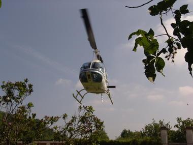 Hélicoptère Air Touraine