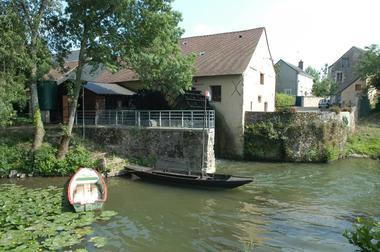 Extérieur du moulin de la Bruère