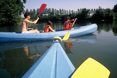Kayaks sur le Loir-02