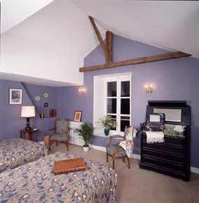 chambre beige chateau