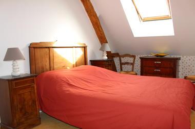 la chambre à lit double, la maison des bournais