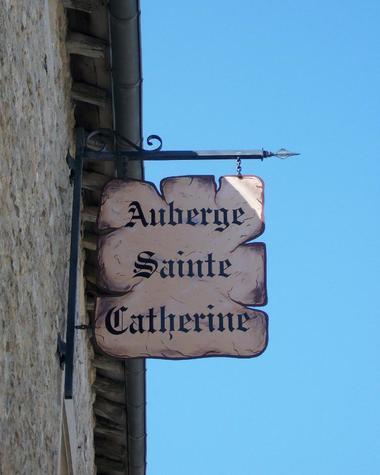 Auberge Sainte Catherine - enseigne