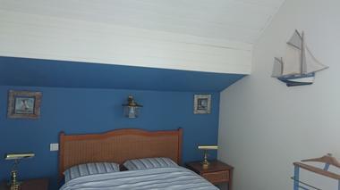 Le Saphir chambre 1er étage lit double - 1