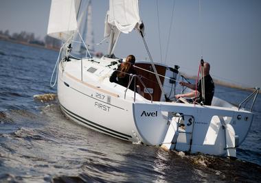 Location bateau voilier Atlantique Vendée St Gilles Croix de Vie First 25.7s